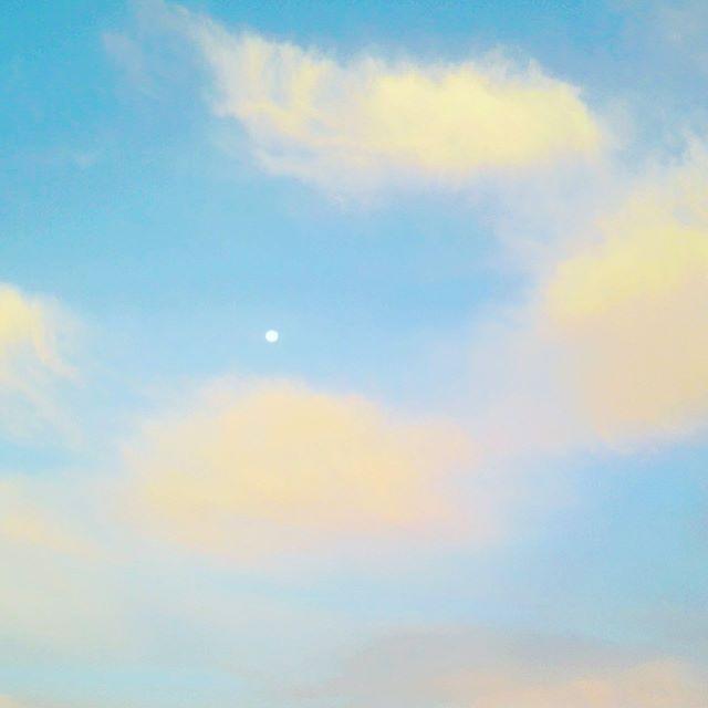 いつかの白い月 (from Instagram)